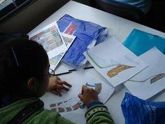 proceso de diseño, estudio de texturas