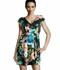 Vestido estampado con flores