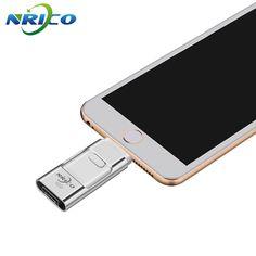 Usb Flash Drive Nrico 8GB/16gb U Disk 64GB IOS Pen Drive 32GB Plus OTG Lightning For iPhone 6 6s 7 Mac/PC #Affiliate