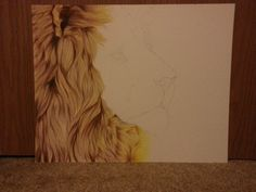 Day Five - The King of Africa - WIP by MissAudi.deviantart.com on @deviantART