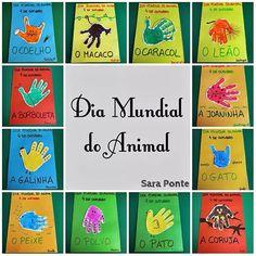 dia do animal Diy For Kids, Animals, Infant Art, Early Childhood Education, Kindergarten Jobs, Autumn Activities, Animal Activities, Baby Play, Love Rain