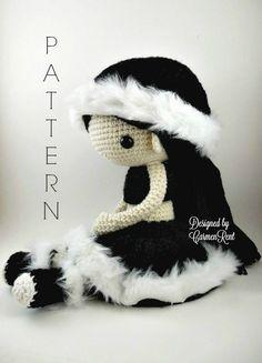Tina++Amigurumi+Doll+Crochet+Pattern+PDF+por+CarmenRent+en+Etsy