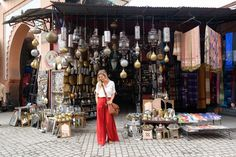 Marrakech is a stunning destination and becoming popular for the sights, cuisine and culture. Here is my solo female traveler's guide to Marrakech! Marrakech Travel, Morocco Travel, Travel Outfit Summer, Summer Travel, Travel Wear, Travel Outfits, Morocco Fashion, Solo Travel Tips, Travel Guide