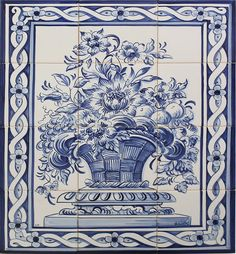 Cesta - 9 azulejos