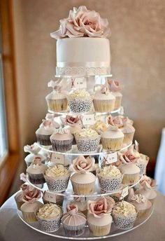 25 Inpressive Small Wedding Cupcakes with Big Styles 2019 Wedding Cakes 25 Inpressive Small Wedding Cupcakes with Big Styles See more: www.weddinginclud The post 25 Inpressive Small Wedding Cupcakes with Big Styles 2019 appeared first on Shower Diy. Lace Cupcakes, Wedding Cakes With Cupcakes, Small Wedding Cakes, Cupcake Wedding Display, Cupcake Display, Spring Wedding Cakes, Wedding Cake Simple, Wedding Cupcake Towers, Vintage Wedding Cakes