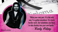 21 Inspirational Yearbook Quotes That Prove the Children Are Our Future Yearbook Quotes Inspirational, Senior Yearbook Quotes, Belief Quotes, Realist Quotes, How High Are You, High School Yearbook, Mindy Kaling, Jon Stewart, Graduation Quotes