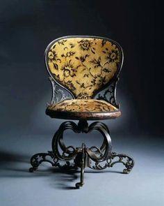 Cadeira em ferro