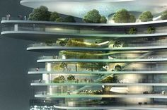MAD Architects Unveil Urban Forest Skyscraper For China