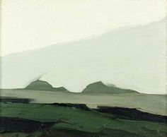 sir kyffin williams. LOVE the colors gray/gray-green,