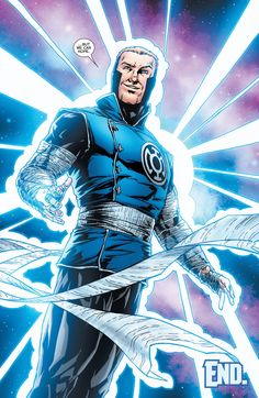 Still can't wait to find out how Guy ended up here. Blue Lantern Corps, Red Lantern, Green Lanterns, Dc Comics Characters, Dc Comics Art, Marvel Vs, Marvel Dc Comics, Comic Books Art, Comic Art