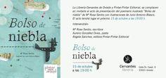 """Presentación del poemario ilustrado """"Bolso de niebla"""" en la Librería Cervantes de Oviedo   Pintar-Pintar Editorial"""