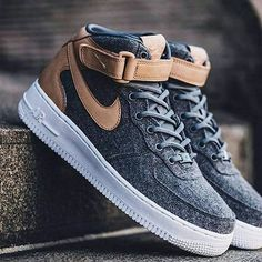 "Nike Air Force 1 Mid ""Wool"""