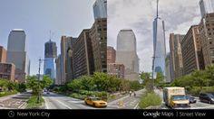 """Tecnologia do Dia: Street View em: """"De volta para o passado"""""""