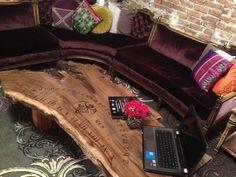 Ouija Board Table Finished Ouija Board Coffee Table Im In Love - Ouija coffee table
