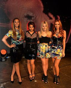 Vanessa White, Rochelle Humes, Mollie King and Una Foden