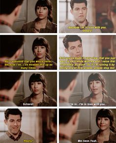 """Cece descends/falls down the mountain once hearing all the messages that Schmidt and Fawn broke up...Schmidt proposes to Cece using the $5 and memories of the first time they met and Schmidt told Cece """"Girl I'm gonna Marry you"""" and had to put that $5 in the jar.  Cece accepts!!"""