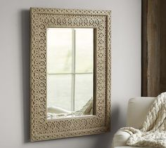 Filigree Mirror | Pottery Barn