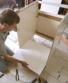 Ready-to-Assemble Cabinets - good article explaining the pros and cons of RTA cabinets.