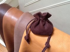 Men's Leather Drawstring Pouch Bag Coin by Shirlbcreationstoo Leather Pouch, Leather Men, Mens Pouch, Cordon En Cuir, Sack Bag, Pouch Bag, Pouches, Drawstring Pouch, Leather Bags Handmade