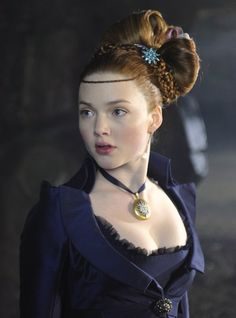 Holliday Grainger as Estella in Great Expectations (2012).
