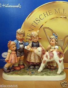 HUM 2165 FARM DAYS TM8 GOEBEL M.I. HUMMEL FIGURINE MOMENTS IN TIME GERMANY NIB