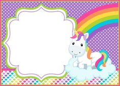 Free Unicorn Invitation Template Unique How You Can Make First Birthday Invitations Special Laser Tag Birthday, Birthday Template, Birthday Invitation Templates, Unicorn Themed Birthday, Unicorn Birthday Invitations, Unicorn Party, Alice In Wonderland Invitations, Unicorn Printables, Unicorns And Mermaids