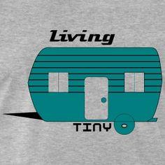 Tiny House Tiny Living the New Big Tiny Living, How To Raise Money, Tiny House, Men's Fashion, House Styles, Clothing, T Shirt, Design, Men Fashion