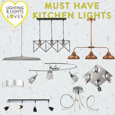 The best selection of kitchen lights! If you're after something specific, ask our team via live chat (during office hours) who will be happy to help you choose the perfect light to illuminate your kitchen! Kitchen Light Fittings, Kitchen Island Lighting, Kitchen Pendants, Track Lighting, Pendant Lighting, Ceiling Lights, Live, Happy, Home Decor