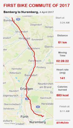 Eva's First Bike Commute of 2017 Rotten, Commuter Bike