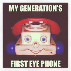 Vintage Eye-Phone