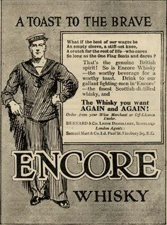 Advertising for Whisky