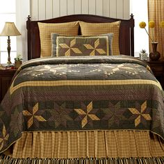 """Beautiful! Check out the complete collection for your home!  Shown here: Amherst Luxury King Quilt 120"""" x 105"""""""