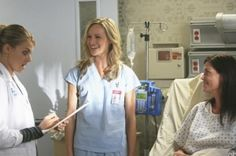 Yep, she's actually a legit actor. Scrubs scene with Eliza Coup from Happy Endings and Kerri Bishe