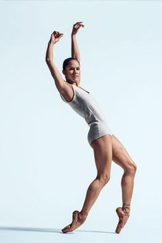 """Misty Copeland photographed at the American Ballet Theater in New York City, February """"The 100 Most Influential People."""" April 27 / May 2015 issue."""