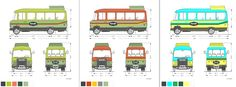 Branded Bus Color Concepts