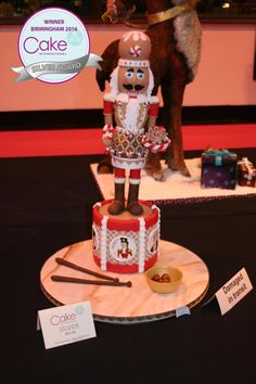 The Nutcracker Prince - Silver Award 2016 CI NEC - Cake by Suzanne Readman - Cakin' Faerie