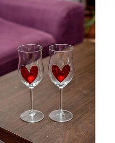 Svadobné poháre by Mwende - SAShE.sk - Handmade Svadba