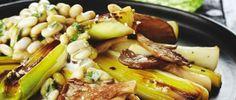 Italiaanse bonenschotel met oesterzwammen, prei en salie · EVA maakt het plantaardig