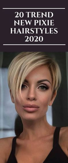 20 Trend New Pixie Hairstyles 2020 2020 Hair Trends – Haircut Trends For Men and Womens – TrendPin Chic Short Hair, Short Hair Trends, Short Grey Hair, Short Hair With Layers, Short Blonde, Short Hair Cuts For Women, Haircuts For Fine Hair, Haircut For Thick Hair, Short Pixie Haircuts