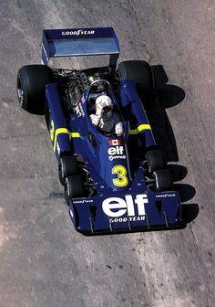 Jody Scheckter Tyrrell - Ford 1976