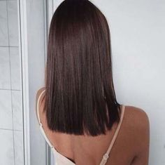 60 Gorgeous Blunt Cut Hairstyles The Haircut That Works on Everyone - frisuren lange Haare - Lob Hairstyle, Hairstyles Haircuts, Cool Hairstyles, Blunt Cut Hairstyles, Party Hairstyles, Brunette Hairstyles, Brunette Haircut, Famous Hairstyles, Beautiful Hairstyles