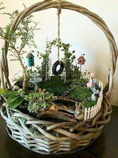 120 amazing backyard fairy garden ideas on a budget (36) #diygardenprojectsbudgetbackyard