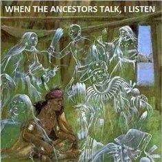 When the Ancestors Talk ~ I Listen ⊰❁⊱