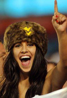 West Virginia Mountaineers football fan.