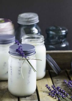 Handmade gift idea #17- Insect Repellant Mason Jar Homemade Candles via Garden Matter at AnOregonCottage.com
