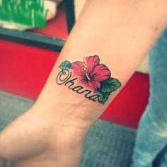 Image result for flower design tattoo ohana