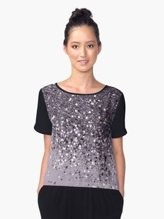 """Sparkling Lavender Lady Glitter #2 #shiny #decor #art"" Women's Chiffon Top by anitabellajantz | Redbubble"