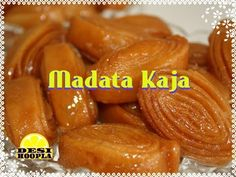 Madata Kaja is a delicious flaky pastry dipped in sugar syrup. This sweet is quite similar to Badusha except its shaped out of a layered dough. It is a specialty made famous in Andhra Pradesh.  Madata means folds in Telegu, as layers in the sweet is a result of consecutive foldings.