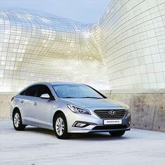 #Refined style makes the #Hyundai #Sonata a #citylife #star. #HyundaiSonata by hyundai_worldwide