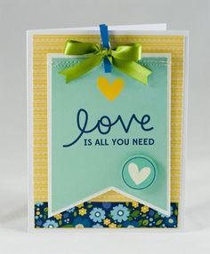 super-cute and simple card // Kim Kesti